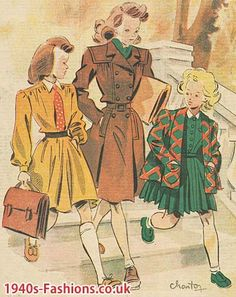1940's children's fashion