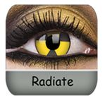 Radiate Biohazard contact lenses are my favorite :) $33.99 a pair