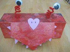 Cute Valentine mailbox idea
