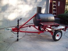 A tailgater cooker created in my shop