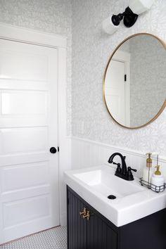 IKEA SILVERAN bathroom vanity hack