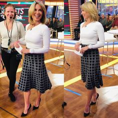 wears top and skirt. Thanks Jewels by Tops, Cushnie, Roberto Coin, Skirts, How To Wear, Amy, Fashion