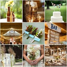 pinterest wedding ideas | pinterest wedding ideas cheap | Images via weddinggawker and Pinterest
