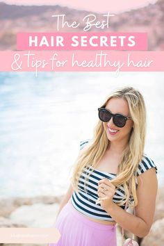 Shhh...I have a secret to tell you! Well, a few actually! Today I'm going to share my best hair secrets and tips for you to have healthy, beautiful hair! I'll be answering all your questions and even sharing the products I use. You'll love my top tips! #healthyhair #hairtips #beautytips #blondehair #healthyhairtip