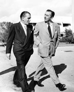 Ed Sullivan And Walt Disney  A really good shoo! No I didn't misspell it. That's the way Ed  pronounced it. They were both visionary.