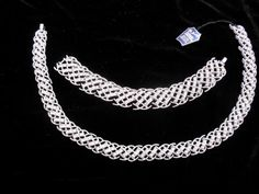 Crown Trifari Necklace and bracelet basket by LaytonandEverett, $142.00