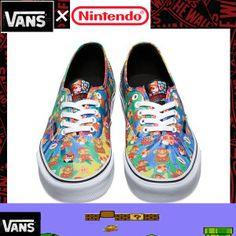VANS AUTHENTIC NINTENDO COLLECTION [californiastyle_van-542] - $39.99 : Vans Shop, Vans Shop in California