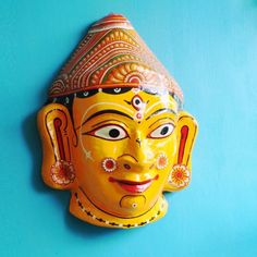 Pattachitra Durga Mask