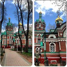 Church in Minsk (Belarus)    By Olga Puchkova (http://instagram.com/olgapuchkova)