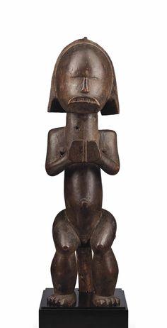 Fang reliquary figure -  Gabon -  Hauteur: 59 cm. (23 ¼ in.)