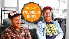 Two twins and over twenty languages: introducing the Super Polyglot Brothers! Secret Language, Learn Turkish, The Twenties, Twins, Challenges, Brothers, Guys, Learning, Voici