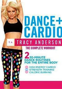 Shop Tracy Anderson: Dance+Cardio The Complete Workout [DVD] at Best Buy. Find low everyday prices and buy online for delivery or in-store pick-up. Weight Loss Challenge, Weight Loss Plans, Easy Weight Loss, Weight Loss Program, Losing Weight Tips, Ways To Lose Weight, Tracy Anderson Diet, Lose 15 Pounds, Stay In Shape