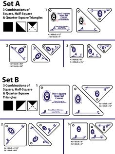 marti michell templates | Perfect Patchwork Templates at From Marti featuring Quilting with The ...