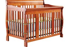 Shop for a Tuscany Pine Crib at Rooms To Go Kids. Find  that will look great in your home and complement the rest of your furniture. #iSofa #roomstogo