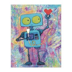 Robot+with+USB+Heart by+earthtogirl