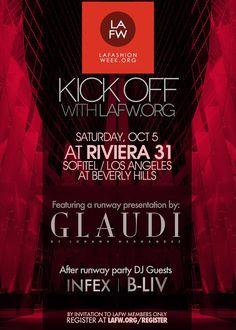 LA Fashion Week Kick off party / Riviera 31 / Sofitel Beverly Hills