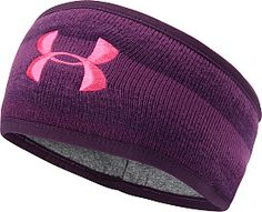 These are awesome for running in the cold!   Under Armour Women's Rally Headband (from Sports Authority) @Joanne Hunter Matthews Armour Women