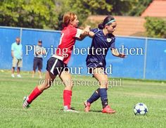 I know this soccer, but it is totally the same thing in lacrosse