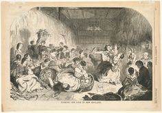 In the Swan's Shadow: Husking the corn in New England 1858