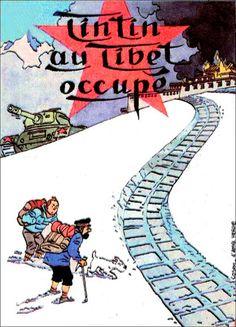 CoastConFan Blog: TINTIN COVERS 4 – Politics, Parody, Pastiches, and Irony