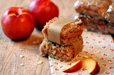TSA[Carry-on Snacks--Fruit/oatmeal squares with nutmeg, baking powder, cinnamon, butter, egg, flour, sugars.