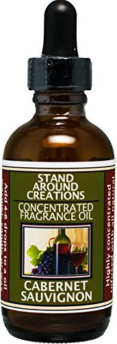 Concentrated Fragrance Oil - Scent - Cabernet Sauvignon- A sweet aroma of wild grapes w/ sweet sugary notes. A wonderful aroma of red sweet wine.Infused w/essential oil. (2 fl.oz.) * Read more at the image link.