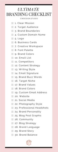 The Ultimate Branding Checklist The Ultimate Branding Checklist For Startup Busi. - The Ultimate Branding Checklist The Ultimate Branding Checklist For Startup Businesses & Entreprene - Plan Marketing, Marketing Quotes, Media Marketing, Online Marketing, Affiliate Marketing, Marketing Strategies, Brand Marketing Strategy, Content Marketing, Internet Marketing