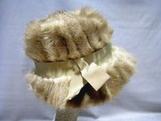 """Mink Fur Hat Designed by Laura  22"""" circumference #Laura"""