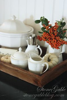 Savvy Southern Style: my favorite room series-coffee station
