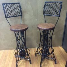 Singer Barstools by Reclamationonline on Etsy
