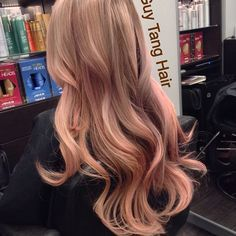 Rose gold highlights Guy Tang - helps to also have nice hair but this guy is a genius. Description from pinterest.com. I searched for this on bing.com/images