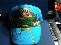 Primeras ideas, gorra con diseño 3D