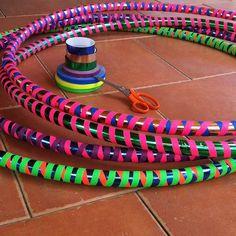 How-To: Make Your Own Hula Hoop #vilcabamba #familyoflight #DiY #makeyourownfun