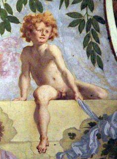 Pontormo, lunetta di vertumno e pomona, 1519-21, 09.jpg