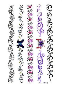 ... tattoo ideas forward 3pc bracelets pattern temporary tattoo waterproof