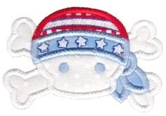 All American 15 Applique - 2 Sizes! | What's New | Machine Embroidery Designs | SWAKembroidery.com Bunnycup Embroidery