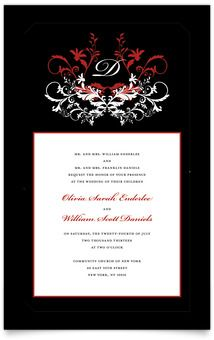 Fire and Ice Party Invitations Fire and Ice Invitations http