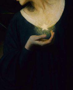 "boyhood: "" Mary L. Macomber, Night and her Daughter Sleep (detail) 1902 """