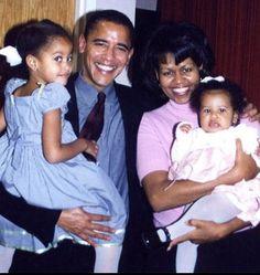 President Obama,Malia,Michelle and Sasha. Such a beautiful family
