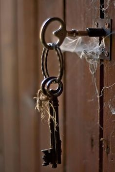 black and white vintage keys Under Lock And Key, Key Lock, Antique Keys, Vintage Keys, Vintage Props, Antique Hardware, Black N White, Black And White Pictures, Color Black