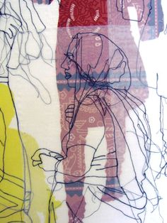 Rosie James - Patterns in Textiles Textile Pattern Design, Textile Patterns, Pattern Print, Design Lab, Rosie James, Collages, A Level Textiles, Textiles Sketchbook, Art Alevel