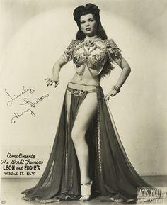 Sherry Britton 1940's Burlesque