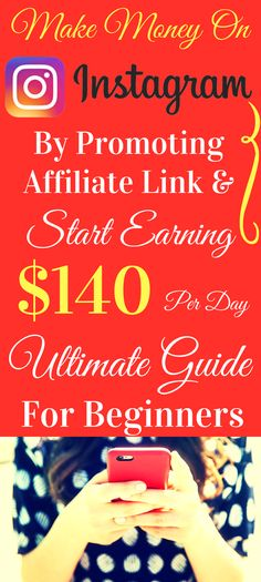 Make Money On Instagram - The Best Way to Make Money Online Fast! Start making money online in 2017 with the best way to earn passive income online from home. Work from home and earn $140 per day with genuine method. Click the pin to see how >>>