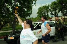 Special Olympics Torch Run. June 3, 2013. (Photo Credit: C. Miller)