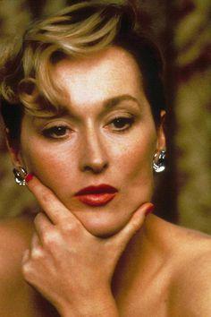 Meryl Streep in Plenty, 1985.
