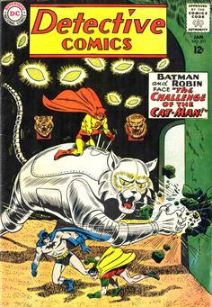 Detective Comics #311 first appearance of Catman.