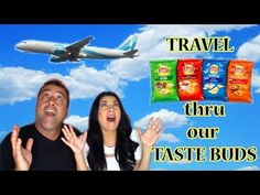 LAY'S PASSPORT TO FLAVOR POTATO CHIPS...4 GLOBAL FLAVORS - Taste Test - YouTube