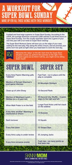Get everyone at the Superbowl party to play along!