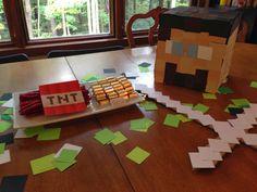 DIY {Minecraft} 7th Birthday