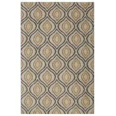Mohawk Home Ogee Waters Tan 8 ft. x 10 ft. Area Rug - 489304 - The Home Depot